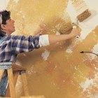 Como reduzir o brilho na pintura de paredes interiores