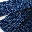 Como tricotar um cachecol para um homem