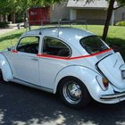 Making a VW Bug into a Convertible