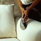 Cómo limpiar con vapor un sofá tapizado