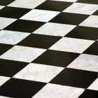 Como fazer uma pintura xadrez em preto e branco ?