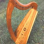 Como fazer uma harpa simples