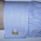 Como colocar abotoaduras em uma camisa social