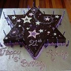 Cómo hacer una torta con forma de estrella