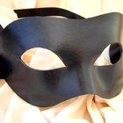 Como fazer uma máscara masculina