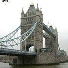 Como fazer uma maquete da ponte de Londres