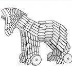 Como fazer um Cavalo de Troia com palitos de picolé