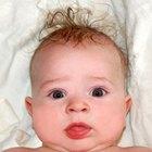 Como descobrir a cor de cabelo de um bebê