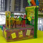 Estratégias para decorar um projeto infantil de um carro alegórico com caixas de sapato