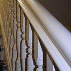 Cómo pintar barandas de escaleras y barandillas