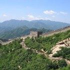 ¿Cómo fue hecha la Gran Muralla China?