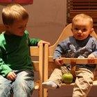 Cómo hacer una silla alta de bebé