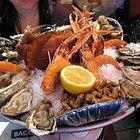 Os frutos do mar que tem colesterol