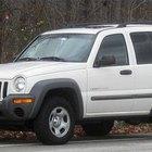 Como reiniciar o sistema de monitoramento de pressão dos pneus em um Jeep Liberty
