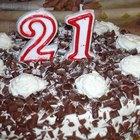 O que escrever num bolo de aniversário?