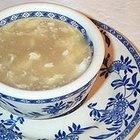 Cómo hacer sopa china de huevo
