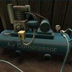Perigos de um compressor de ar