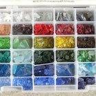 Cómo mezclar vidrio reciclado con concreto