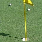 Cómo crear tu propio putting green para practicar golf