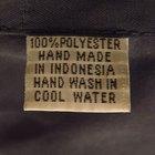 Cómo lavar las prendas que son 100% poliéster