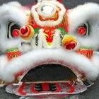 Cómo hacer una máscara de león china