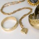 Cómo limpiar alhajas de plata chapadas en oro