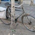 Cómo limpiar el óxido de una bicicleta cromada
