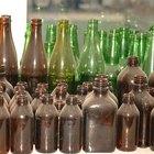 Cómo hacer topes de cocina de vidrio reciclado