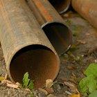 ¿Cómo se elimna el óxido de las tuberías?