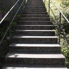 Cómo instalar barandas de metal en escaleras de concreto