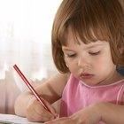 Cómo enseñar a escribir las letras del abecedario a los niños de preescolar