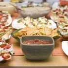 Cómo calcular la cantidad de alimentos por persona para una fiesta