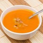Cómo hacer que la sopa de calabaza quede más espesa