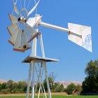 Cómo construir un molino de viento para bombear agua