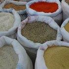 Cómo almacenar arroz y granos secos durante un largo tiempo