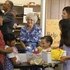 Cómo escribir una carta de petición para donaciones de comida para una actividad en la iglesia