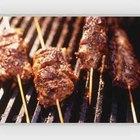 new york strip steak in iron skillet