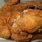 Fried chicken steak