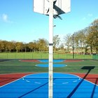 How to Pour a Concrete Slab for a Basketball Court