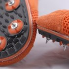 How to Put Spikes on Track Shoes