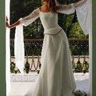 bridesmaid adjusting the bride's veil