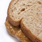 Peanut butter swirl on spoon