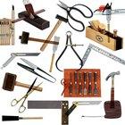 Imágenes y descripciones de algunas herramientas de carpintería