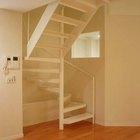 Ancho de la huella de una escalera vs.altura