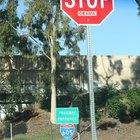 ¿Cuáles son las medidas de una señal de stop?