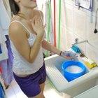 Pode-se usar detergente para lavar roupas?