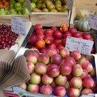 ¿Qué frutas son ácidas?