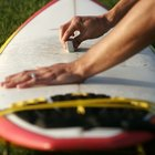 How to remove spray paint from a surfboard
