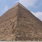 How to make a pyramids of Giza model