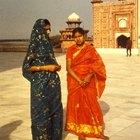 A história das roupas indianas